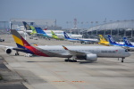 空が大好き!さんが、関西国際空港で撮影したアシアナ航空 A350-941XWBの航空フォト(写真)