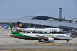 空が大好き!さんが、関西国際空港で撮影したエバー航空 787-9の航空フォト(写真)