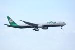 garrettさんが、台湾桃園国際空港で撮影したエバー航空 777-35E/ERの航空フォト(写真)