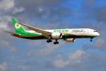 kamerajiijiさんが、成田国際空港で撮影したエバー航空 787-9の航空フォト(写真)
