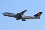 空が大好き!さんが、関西国際空港で撮影したルフトハンザドイツ航空 747-430の航空フォト(写真)