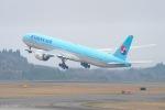 ⚓ほそっち⚓さんが、鹿児島空港で撮影した大韓航空 777-3B5/ERの航空フォト(写真)