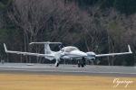 おがりょうさんが、鹿児島空港で撮影したジャパン・ジェネラル・アビエーション・サービス DA42 NG TwinStarの航空フォト(写真)