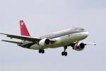 senyoさんが、成田国際空港で撮影したノースウエスト航空 A320-211の航空フォト(写真)