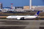 まいけるさんが、羽田空港で撮影したユナイテッド航空 787-9の航空フォト(写真)