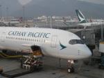 hachiさんが、香港国際空港で撮影したキャセイパシフィック航空 A350-1041の航空フォト(写真)