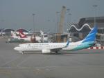 hachiさんが、香港国際空港で撮影したガルーダ・インドネシア航空 737-8U3の航空フォト(写真)