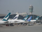 hachiさんが、香港国際空港で撮影したキャセイパシフィック航空 A350-941XWBの航空フォト(写真)