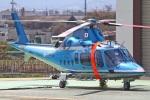 MOR1(新アカウント)さんが、京都府警察航空基地で撮影した京都府警察 A109E Powerの航空フォト(写真)