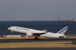 hiroki-JA8674さんが、羽田空港で撮影したエールフランス航空 777-228/ERの航空フォト(飛行機 写真・画像)