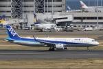 camelliaさんが、羽田空港で撮影した全日空 A321-272Nの航空フォト(写真)