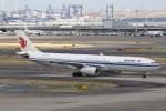 camelliaさんが、羽田空港で撮影した中国国際航空 A330-343Xの航空フォト(写真)