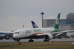 airdrugさんが、成田国際空港で撮影したエバー航空 787-9の航空フォト(写真)