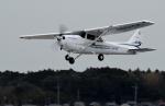 sepia2016さんが、龍ケ崎飛行場で撮影したアイベックスアビエイション 172S Skyhawk SPの航空フォト(写真)