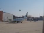hana父さんが、ドレスデン空港で撮影したゲルマニア 737-75Bの航空フォト(写真)