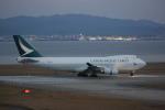 meijeanさんが、関西国際空港で撮影したキャセイパシフィック航空 747-467F/ER/SCDの航空フォト(写真)