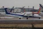 知希(仮)さんが、成田国際空港で撮影したANAウイングス DHC-8-402Q Dash 8の航空フォト(写真)