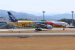 Miraiさんが、熊本空港で撮影した全日空 777-281/ERの航空フォト(写真)