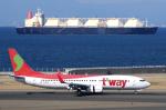 yabyanさんが、中部国際空港で撮影したティーウェイ航空 737-8BKの航空フォト(写真)