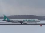 noshi2さんが、新千歳空港で撮影したエアソウル A321-231の航空フォト(写真)
