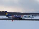 noshi2さんが、新千歳空港で撮影したスカイマーク 737-81Dの航空フォト(写真)