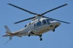 チャーリーマイクさんが、東京ヘリポートで撮影した日本法人所有 A109E Powerの航空フォト(写真)