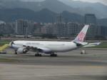 カップメーンさんが、台北松山空港で撮影したチャイナエアライン A330-302の航空フォト(飛行機 写真・画像)