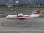 カップメーンさんが、台北松山空港で撮影した遠東航空 ATR-72-600の航空フォト(写真)
