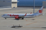 Bulu minさんが、中部国際空港で撮影したタイ・ライオン・エア 737-8GPの航空フォト(写真)