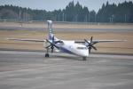 ケツメイシ宮崎~KMIさんが、鹿児島空港で撮影したANAウイングス DHC-8-402Q Dash 8の航空フォト(写真)