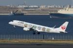 なぞたびさんが、羽田空港で撮影したジェイ・エア ERJ-190-100(ERJ-190STD)の航空フォト(写真)