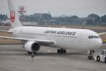ケツメイシ宮崎~KMIさんが、鹿児島空港で撮影した日本航空 767-346/ERの航空フォト(写真)