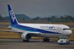 ケツメイシ宮崎~KMIさんが、鹿児島空港で撮影した全日空 767-381の航空フォト(写真)