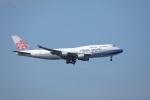 garrettさんが、台湾桃園国際空港で撮影したチャイナエアライン 747-409の航空フォト(写真)