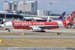 たっしーさんが、関西国際空港で撮影したタイ・エアアジア・エックス A330-343Xの航空フォト(写真)