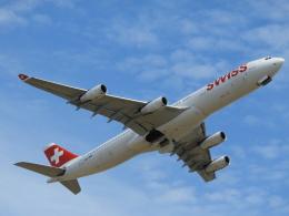 SKY☆MOTOさんが、成田国際空港で撮影したスイスインターナショナルエアラインズ A340-313Xの航空フォト(飛行機 写真・画像)