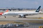たっしーさんが、関西国際空港で撮影したキャセイパシフィック航空 777-367の航空フォト(写真)