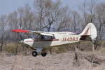 フォークリフト操縦士さんが、角田滑空場で撮影した日本個人所有 A-1 Huskyの航空フォト(写真)