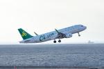 ぱん_くまさんが、中部国際空港で撮影した春秋航空 A320-214の航空フォト(写真)