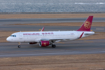 ぱん_くまさんが、中部国際空港で撮影した吉祥航空 A320-214の航空フォト(写真)