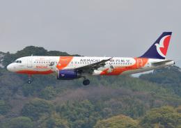 じーく。さんが、福岡空港で撮影したマカオ航空 A320-232の航空フォト(写真)