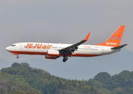 じーく。さんが、福岡空港で撮影したチェジュ航空 737-8FHの航空フォト(写真)