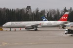 BTYUTAさんが、シェレメーチエヴォ国際空港で撮影したノードウィンド航空 A321-232の航空フォト(写真)