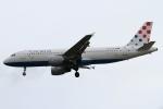 rjジジィさんが、ロンドン・ヒースロー空港で撮影したクロアチア航空 A320-214の航空フォト(写真)
