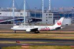 まいけるさんが、羽田空港で撮影した日本航空 767-346の航空フォト(写真)