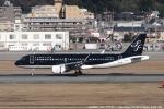 tabi0329さんが、福岡空港で撮影したスターフライヤー A320-214の航空フォト(写真)