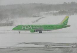 kumagorouさんが、青森空港で撮影したフジドリームエアラインズ ERJ-170-200 (ERJ-175STD)の航空フォト(飛行機 写真・画像)