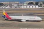 tabi0329さんが、福岡空港で撮影したアシアナ航空 A321-231の航空フォト(写真)