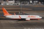 tabi0329さんが、福岡空港で撮影したチェジュ航空 737-8ASの航空フォト(写真)
