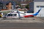 MOR1(新アカウント)さんが、双葉滑空場で撮影した山梨県防災航空隊 S-76Dの航空フォト(写真)